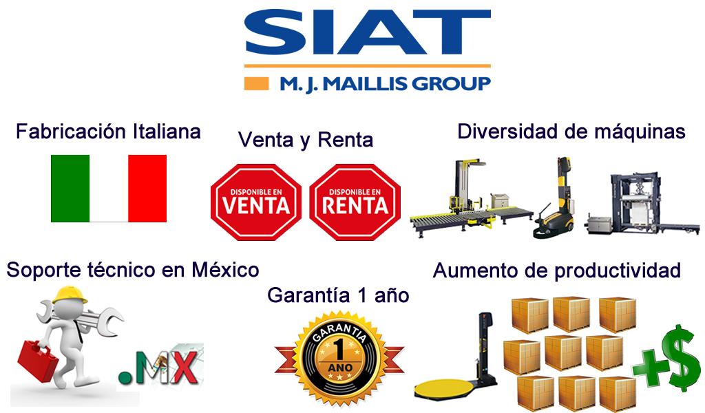 Ventajas emplayadoras SIAT,Querétaro