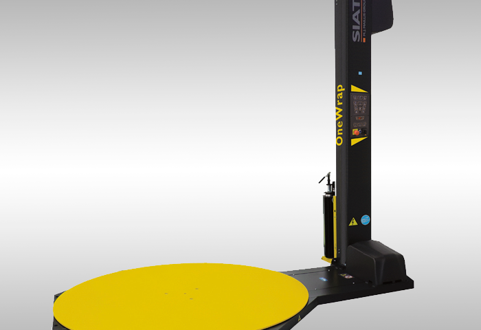 emplayadora semiautomatica OneWrap SIAT, paletizadora, Queretaro